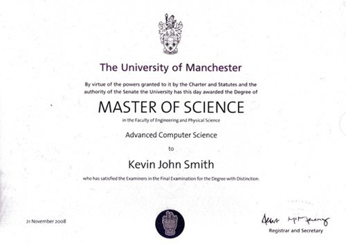 Degree Certificate Printing Service