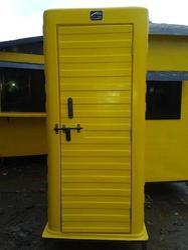 Yellow Fiber Toilet