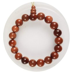 Eshoppee Sunstone Bracelet With Guru Bead