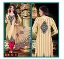 Printed Crepe Dress Material With Dupatta