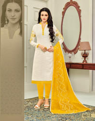 Ladies Churidar Dress Material