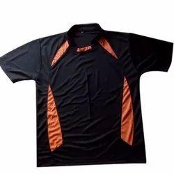 Plain Pattern Jersey T Shirt