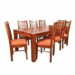Wooden Dining Table Set Eight Seater