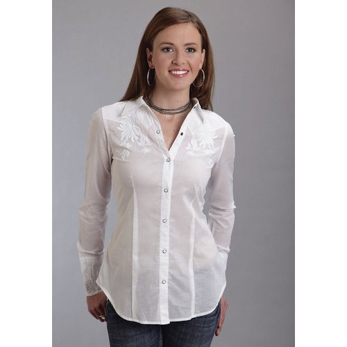 6fad327de0da Fashion Fushion Plain Women White Shirt, Rs 250 /piece, SD Clothing ...