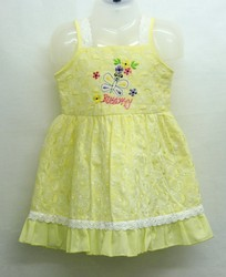 Printed Girls Cotton Baby Frock