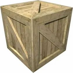 Square Wooden Crate Box, for packaging