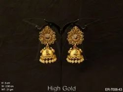Traditional Bridal Antique Earrings