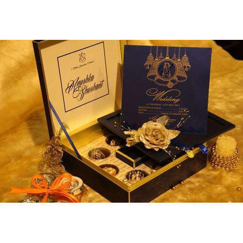 Royal Box Wedding Card