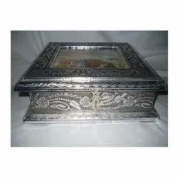 Rectangular Aluminum Box, For Home