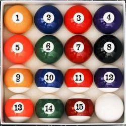 Polyster Resin Pool Table Billiard Balls