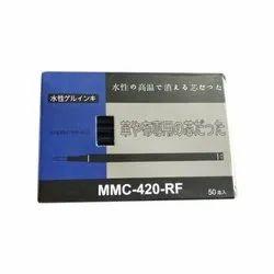 Plastic MMC-420-RF Marking Garment Refill/ steam erasable pen, Packaging Size: 50 Pieces