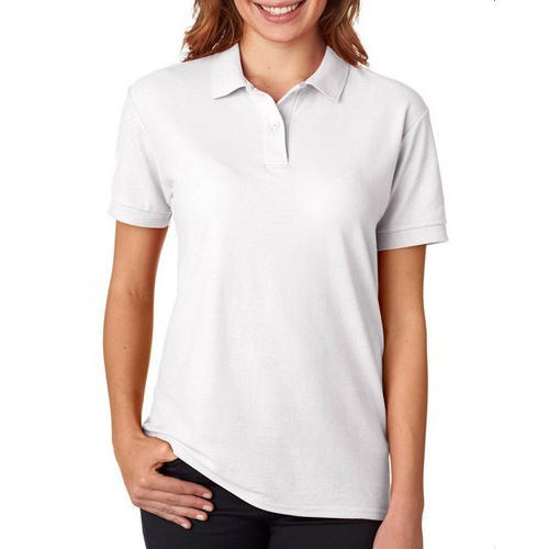 Ladies White Polo T-Shirt at Rs 260  piece  aa579429b