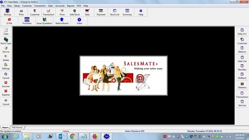 salesmate gst billing and sales pos software at rs 11000 number