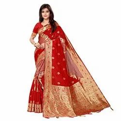 1883 Fancy Jacquard Silk Saree