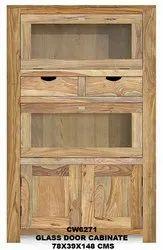 Roma Glass Door Cabinet