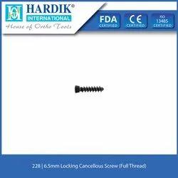 6.5mm Locking Cancellous Screw (Full Thread)