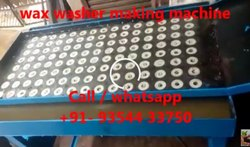 Wax Washer Making Machine