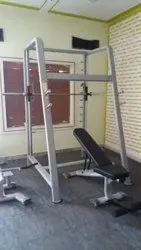 Friends Plate Load Smith Machine with Adjustable Bench, For Gym, Model Name/Number: 2IN1