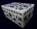 Italian Marble Inlay Box