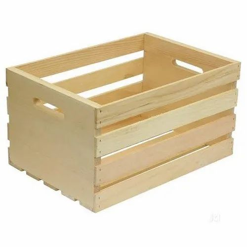 Edible & Non-Edible Open Crates Storage Wooden Crate, 1 inch to 1.5 inch, Box Capacity: 1 to 30 kg, Rs 500 /piece ID: 21540595862