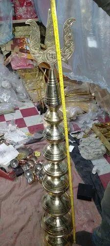 Brass Temple Gopur Kalash