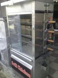 Stainless Steel Grill Chicken Counter