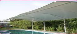 Swimming Pool Covering Shed
