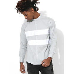 Mens Light Grey Club Wear Shirt