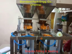 Snacks Filling Machine