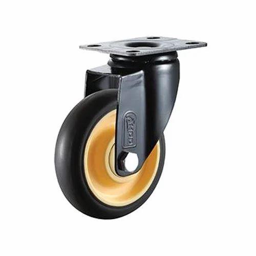 Swivel Type Shopping Cart Caster Wheels, Size: 2.5' , 3'  & 4'