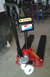 Weight Indicating Pallet Truck