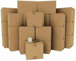 Cardboard Double Wall - 5 Ply Kraft Corrugated Boxes, For Apparel, Box Capacity: 6-10 Kg