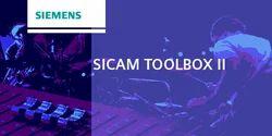 SICAM TOOLBOX II Engineering software for SICAM RTUs