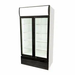 Stainless Steel Upright Freezer, Double Door