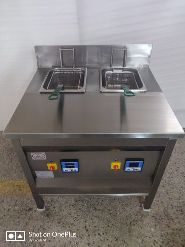 Double Basket Deep Fat Fryer - 2 Zone