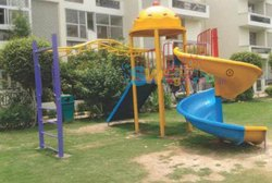 Playground Slide For School