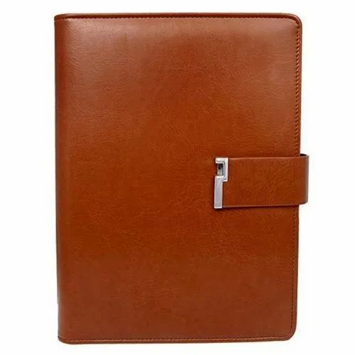 A5 Brown Corporate Diary, Yearly