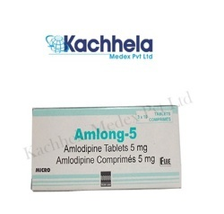 Amlong 5 Mg Tablet