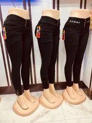 055f30c9 Ladies Printed Jeans in Delhi, महिलाओं की मुद्रित ...