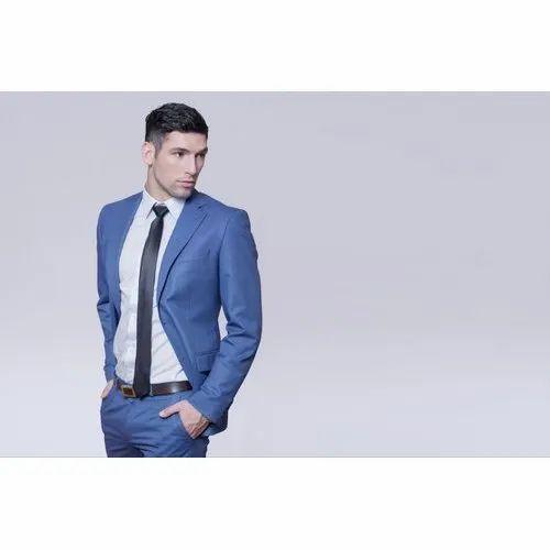 2 Piece Suit Plain Skyblue Two Piece Mens Suit Rs 5990 1 Unit O Life Pvt Ltd Id 20680910448
