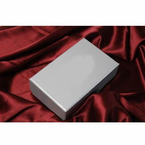 Paper Grey Tie Gift Box