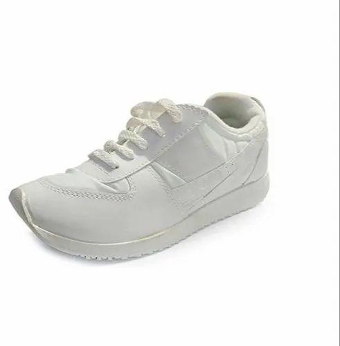 Mens PT Shoes - Army White PT Shoes