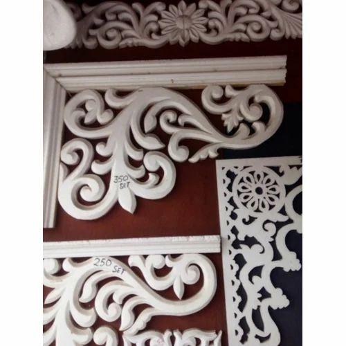White Thermocol Design Sai Art And Design Id 17147414730