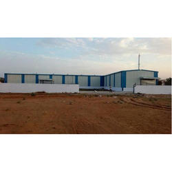 Powder Coated PEB Structural Industrial Sheds