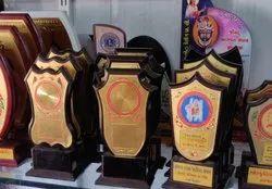 Golden Pre-Metal Trophy