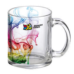 11oz Glass Clear Mug