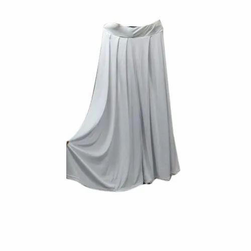 Polyester Plain Ladies elephant plazo pent, Waist Size: free size(XL)