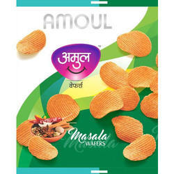 Amoul Masala Wafers, Packaging Type: Packet