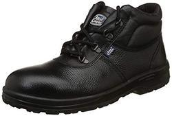 PU Sole Ankle Leather Safety Shoes