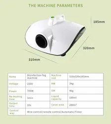 Anti Bacterial Sanitizer Fogging Machine